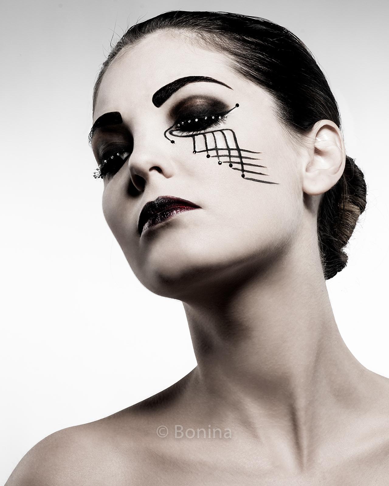 Beauty, portrait,ritratto per make-up